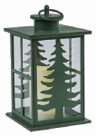 Sterno Home GL29382BR Tree Lantern, Black Plastic, 5.6 x 5.6 x 10-In.