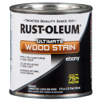 Rust-Oleum 271131 1/2PT Ebony Wood or Wooden Stain