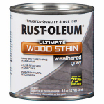 Rust-Oleum 271132 1/2PT Weather GRY Wood or Wooden Stain
