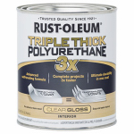 Rust-Oleum 284482 QT Triple Gloss or Glass Polyurethane
