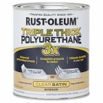 Rust-Oleum 284486 QT Triple Satin Polyurethane