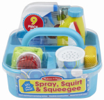 Melissa & Doug 8602 Spray, Squirt & Squeegee Play Set