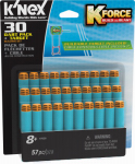 Knex Limited Partnership Group 47528 Dart Pack & Target Set, 30-Pk.