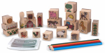 Melissa & Doug 8592 Stamp-A-Scene Farm Set