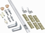 National Mfg/Spectrum Brands Hhi N343-749 72 FOLD Door HDW KIT