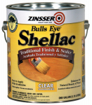 Zinsser & 0301 Bull's Eye Clear Shellac, Gallon