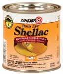 Zinsser 0704 Quart 3LB Amber Shellac