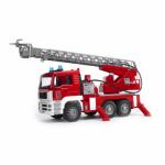 Bruder Toys America 02771 MAN TGA Fire Engine, Light & Sound Module