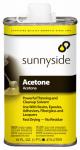 Sunnyside 84016 Acetone, 1-Pt.