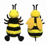 Hugfun Intl Hongkong 238077 Plush Bumble Bee, 20-In.