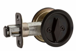 National Mfg/Spectrum Brands Hhi N350-355 Pocket Door Latch, Bronze