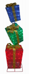 Citi Talent 56-522-087 LED Gift Box Christmas Decoration, Collapsible, 72-In.