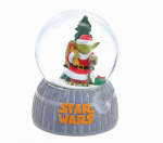 Kurt S Adler SW8161 Snow Globe, Star Wars Yoda Santa, 100mm