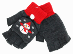Dm Merchandising X-FGLV XMAS Fingerless Gloves