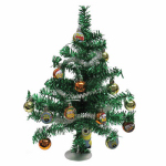 Kurt S Adler DE9152 Artificial Christmas Tree Set, Despicable Me Ornaments, 19-In.