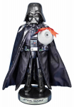 Kurt S Adler SW6152L Nutcracker, Star Wars Darth Vader, 10-In.