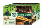 Feit Electric 72041 String Light Set, 15 Bulbs, 11-Watts, 30-Ft.