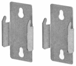 Kenney Mfg KN852 Double Curtain Rod Bracket, Pr.