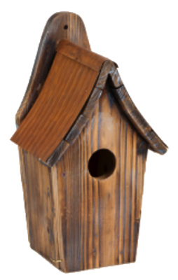 Heritage Farms 24233 Rustic Bluebird Bird House - Quantity 1