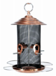 Woodlink NABCN Copper Mixed Seed Bird Feeder