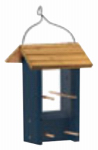 Woodlink NAFINCH Wood Finch Feeder, Blue