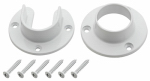 National Mfg/Spectrum Brands Hhi S822-083 WHT Closet Flange Set