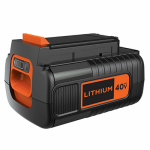 Black & Decker LBX2040 Max Lithium Ion Battery Pack, 40-Volt