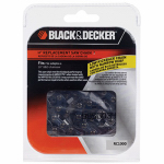 Black & Decker RC1000 Cordess Saw Replacement Chain, 10-In.