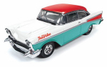 Round 2 CP7366/06 Collectible 1957 Chevy Bank, 1:24 Scale