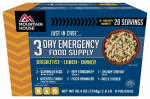 Big Rock Sports 2001-0100 3-Day Emergency Food Kit