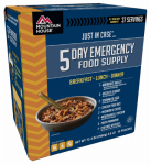 Big Rock Sports 2001-0102 5-Day Emergency Food Kit