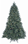 National Tree Co-Import PEDDB2-W02-75 Artificial Pre-Lit Christmas Tree, Douglas Blue Fir With 700 Warm White LED Lights, Hinged, 7.5-Ft.