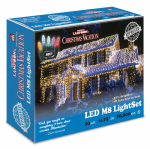 Holiday Bright Lights LEDM8-50MU-CG LED Light Set, Commercial Grade, Multi-Color M8, 50-Ct., Griswold Approved