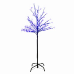 Danson Decor XDHK32529A LED Cherry Blossom Tree, Blue, 4-Ft.