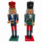 "Danson Decor XDHK33022 15"" Trad Wood or Wooden Nutcracker"