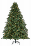 Polygroup Limited TG76P3793L05 Artificial Christmas Tree, Olympus Fir, 420 Warm White LED Lights, 7.5-Ft.