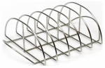 Premier Specialty Brands KJ-RR Rib Rack, Stainless Steel