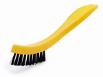 Rubbermaid Comm Prod FG9B5600BLA Tile/Grout Brush, 8.5-In.