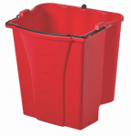Rubbermaid Comm Prod FG9C7400RED Dirty Water Bucket, Red, 18-Qt.