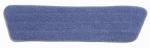 Rubbermaid Comm Prod FGQ40920BL00 Flat Mop Pad Refill, Microfiber, 18 x 5-In.