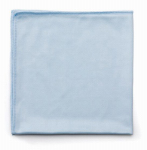 Rubbermaid Comm Prod FGQ63006BL00 Glass Microfiber Cleaning Cloth
