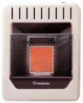 Procom Heating MG1TIR Infrared Wall Heater, Dual Fuel, Vent-Free, 10,000-BTU