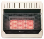 Procom Heating MG3T1R Infrared Wall Heater, Dual Fuel, Vent-Free, 28,000-BTU