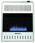 Procom Heating MG20TBF Blue Flame Gas Wall Heater, Dual Fuel, Vent-Free, 20,000-BTU