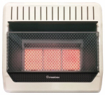 Procom Heating ML3PHG Infrared Wall Heater, LP Gas, Vent-Free, 28,000-BTU
