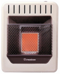 Procom Heating MN1PHG Infrared Wall Heater, Natural Gas, Vent-Free, 10,000-BTU