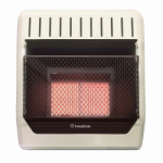Procom Heating MN2PHG Infrared Wall Heater, Natural Gas, Vent-Free, 20,000-BTU
