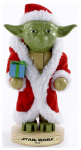 Kurt S Adler SW6151L Nutcracker, Star Wars Santa Yoda, 9-In.