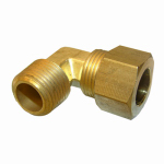 Larsen Supply 17-6947 1/2CMPx3/8MPT Elbow