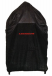 Premier Specialty Brands BJ-GC24B Big Joe Grill Cover, Black, 24-In.